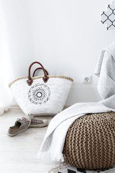 DIY Ibiza basket bag Bohostyle