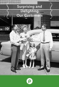 In 1959, Publix held a promotion across all 47 stores. Each store drew one customer's name. That lucky customer drove away with a brand-new car!