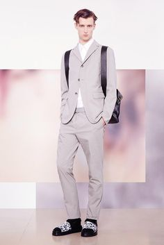 Jil Sander Spring 2015 Menswear - Collection - Gallery - Look 1 - Style.com