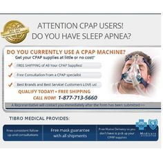 At Tibro Medical we strive to make sure you receive maximum benefits from your CPAP or BiPAP machine. www.tibromedical.com