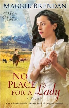02/02/14 4.2 out of 5 stars No Place for a Lady (Heart of the West Book #1): A Novel by Maggie Brendan, http://www.amazon.com/dp/B00B5J4TKC/ref=cm_sw_r_pi_dp_0KX7sb0Y4PX34