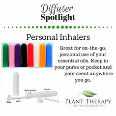 Personal inhalers are a wonderful way to take your aromatherapy experience with you, no matter where you travel. We've done some previous blog posts on how to create a personal inhaler…