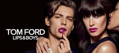 https://flic.kr/p/MEDUMg | Tom-Ford-Lips-and-Boys-ad-campaign | Men lipstick
