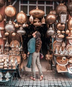 The souks (or markets) are one of the most beautiful places in Marrakech! Marrakech Travel, Morocco Travel, Africa Travel, Beautiful World, Most Beautiful, Beautiful Places, Indian Room, Silver Ornaments, Travel Purse