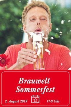 Sei dabei beim 1. Brauwelt-Sommerfest, am 2. August 2019, ab 11 Uhr in der Stiegl-Brauwelt in Salzburg. #prost  Events | Stiegl | Österreich | Veranstaltung | Salzburg | Better be there | Save the Date | Bier | Trinken | Kinder | Ausflug | Urlaub | Sommer | Feiern | Party Salzburg, Events, Party, Movies, Movie Posters, Drink Beer, Brow Bar, Vacation, Film Poster