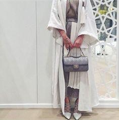 long Abaya kuftan hijab style