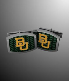 Sweet #Baylor cuff links