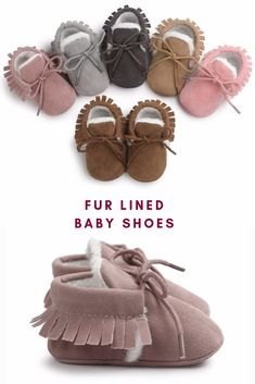 cb4bdad7c2d The cutest fur lined baby shoes is here. Great to keep