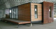 how to timber clad a shipping container - Google Search