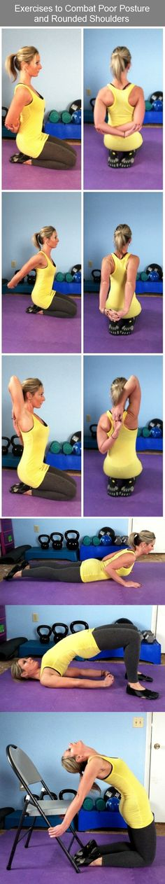 Exercises to Combat Poor Posture and Rounded Shoulders