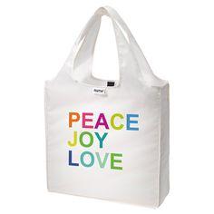 Peace Joy Love Tote Bag