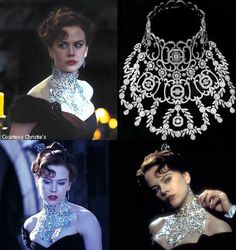 Nicole Kidman as Satine in Moulin Rouge Satine Moulin Rouge, Le Moulin, Moulin Rouge Movie, Movie Costumes, Ballet Costumes, Cosplay Costumes, Drag Clothing, Fashion Tv, Fashion Quotes