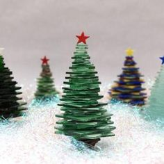 Free Stacked Glass Trees Project Guide - $0.00