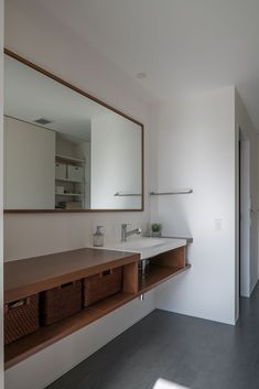 Washroom, Double Vanity, Laundry Room, Sweet Home, New Homes, Mirror, House Styles, Wood, Furniture