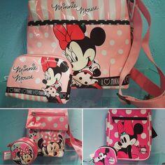 Quien no conoce a Minnie Mouse!!! ¿Sabias que su verdadero nombre es Minerva? Es una ratoncita muy coqueta y que siempre nos deleita con su gran sonrisa. Asi, coquetas y muy sonrientes estarán nuestras peques llevando estos bolsitos y monederos de este divertido personaje.  #⃣ #elsomni #cardedeu #minniemouse #minnie #mouse #regalos #gift #regals #zapateria #infantil #juvenil