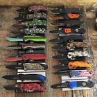 20 X KNIVES Dealers Lot Assorted Spring Assisted Open Tactical Pocket Knife C448
