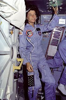 "Astronaut Sally Ride's ""Shoot for the Stars"" speech offers lessons any woman can use in her own speeches. A ""Famous Speech Friday"" entry on The Eloquent Woman blog."