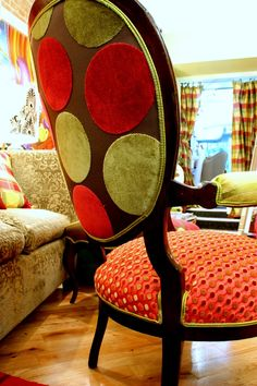 Re Purposed Chair Vintage Victorian Chair and settee