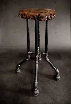 Pedestal Pipe Table Base Diy Furniture Dining от