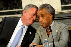 """Two Media-Whores with an Agenda and a me, Me, ME Complex ~ So it's come to this: On the weekend New York City buries another of its Finest, Detective Wenjian Liu, the focus is on the mayor — and whether police officers will again turn their backs on him. (Oh, and on """"Rev"""" AL who supposedly got """"death threats"""")"""