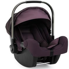 Nuna Pipa infant car seat (Blackberry) with base