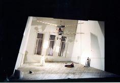 Tales of Hoffmann. The New Israeli Opera. Scenic design by Roni Toren. 1989/1996