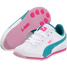 more pumas... :) can't wait for Adriana to wear out her NB's! ready to buy some new shoes...