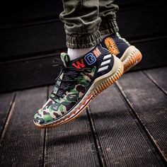 cheap for discount 17052 ecb31 BAPE X ADIDAS DAME 4 15000 release 17 Febbraio   February  sneakers76 in  store online