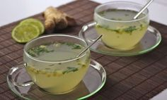 The house detox infusion of winter fresh ginger, mint from the garden … - Diet and Nutrition Bebidas Detox, Detox Drinks, Healthy Drinks, Healthy Recipes, Colon Cleanse Diet, Healthy Life, Healthy Eating, Healthy Beauty, Healthy Food