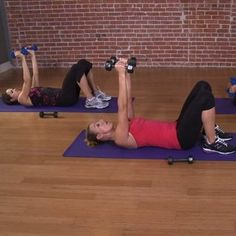 10-Minute Arm Workout Video  REALLY do feel the burn! Note to self: Do this everyday!