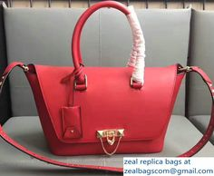 Valentino Demilune Rockstud Double Handle Small Bag Red 2017