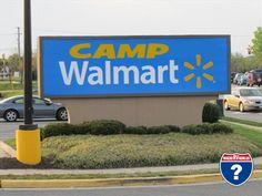 Boondocking at Camp Walmart
