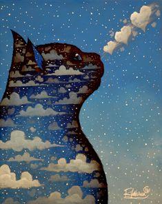 [ARTE] Artista retrata o universo dos gatos em pinturas incríveis – DELIRIUM NERD