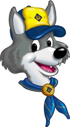 cub scout clip art- wolf den   so cute!!!