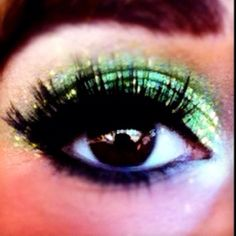 St. Patty's Day eyes