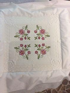 Tudor rose quilt