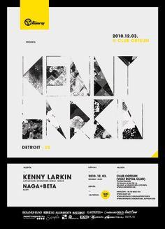 Kenny Larkin poster