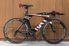 #Cerevelo #bike by Caroline Steffen's P5 before coming 2nd at Abu Dhabi 2013