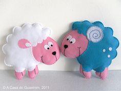 Ovelha e Carneiro :) by A.casa.do.Guaxinim, via Flickr
