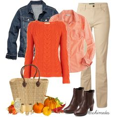 fall outfits - Fall Outfits | Pumpkin Festival | Fashionista Trends