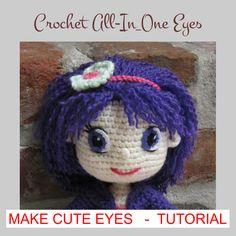 Mesmerizing Crochet an Amigurumi Rabbit Ideas. Lovely Crochet an Amigurumi Rabbit Ideas. Crochet Doll Pattern, Crochet Dolls, Crochet Patterns, Crocheted Toys, Amigurumi Doll, Plush Dolls, Crochet Eyes, Knit Crochet, Doll Tutorial