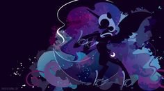 Nightmare Moon Silhouette Wall by SpaceKitty.deviantart.com on @deviantART