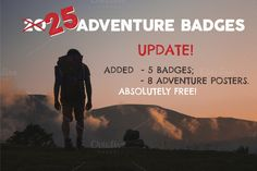 UPDATE 25 Adventure Badges & Logos ⛺ by JeksonGraphics on Creative Market