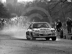 Henri Toivonen/Fred Gallagher, Rothmans Opel Manta 400, 1983 Lombard RAC Rally, Sutton Park