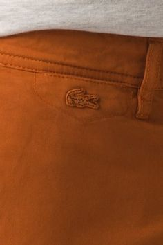 #Lacoste L!VE Soft Washed Cotton Twill #Chino