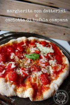 Cake's Amore... and more: la pizza napoletana al piatto con pomodori datteri...
