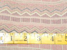 Vintage Fabric Red & Black Diagonal Pattern 1 Yard Plus Silk Like (193E) on Etsy, $8.00