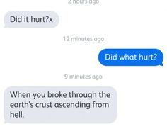 Did it hurt?