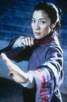 Michelle Yeoh in Crouching Tiger, Hidden Dragon