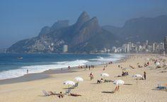 Ipanema Beach, Rio de Janeiro, Brazil.....Yup! this girl walked Ipanema Beach :-)